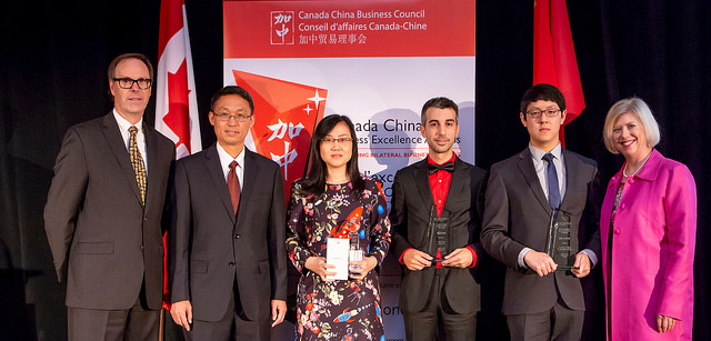 Steve Di Fruscia, Dura's co-founder, won 2018 Canada-China Business Excellence Award.